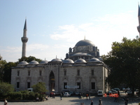 Beyzit Camii as seem from in front of old University gate