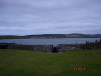 The view from Fort Charlotte